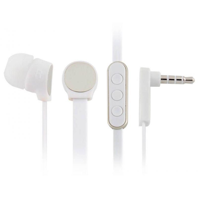 Oordopjes In Ear plaatst microfoon in volumeknop + -
