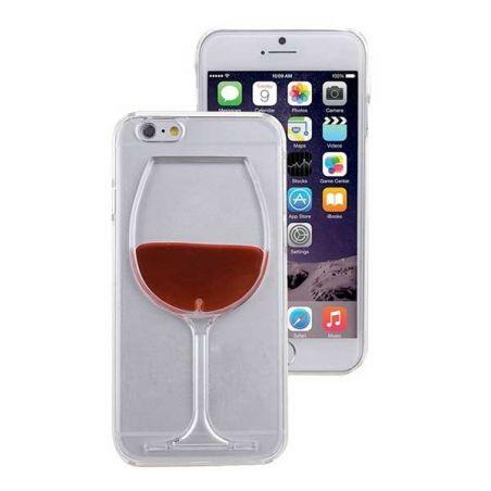 Coque TPU transparente Verre de Vin pour iPhone 7 Plus / iPhone 8 Plus