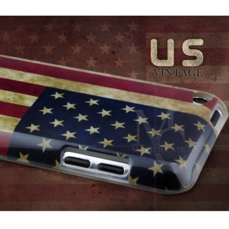 American flag shell US vintage iPod Touch 4