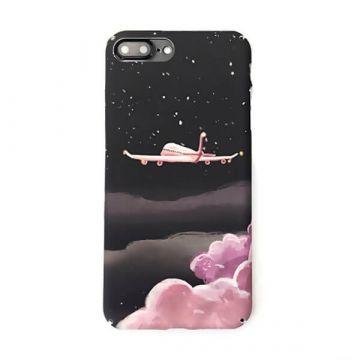 Hartschalenetui Soft Touch Pink Moon iPhone 7 / iPhone 8