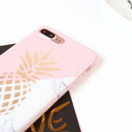 Achat Coque TPU Marbre-Ananas pour iPhone 7 / iPhone 8/SE 2 COQ7X-010