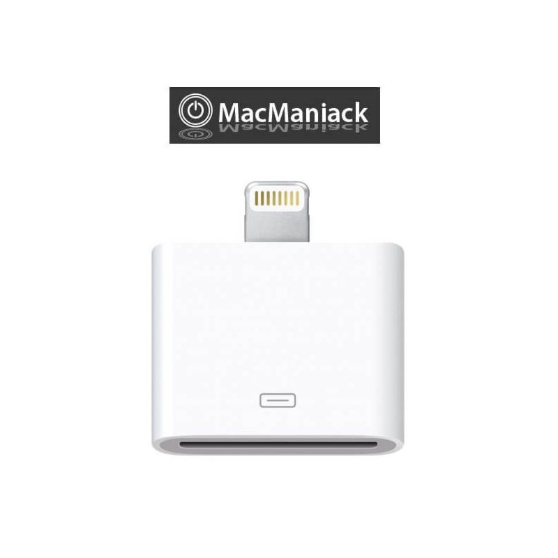 Achat Adaptateur Lightning 30 pin vers 8 pin blanc iPhone 5 - iPad Mini- Touch 5 CHA00-072
