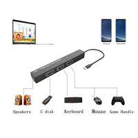 USB-C Hub to 3 USB and Audio Adapter