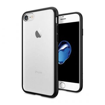 Transparentes TPU-Gehäuse mit schwarzen Kanten iPhone 7 / iPhone 8  Abdeckungen et Rümpfe iPhone 7 - 1