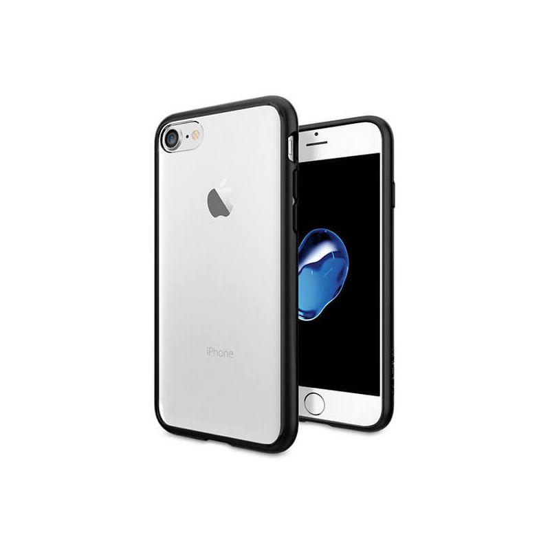Achat Coque TPU transparente bords noirs iPhone 7 / iPhone 8/SE 2 - Housses et coques iPhone 7 - MacManiack