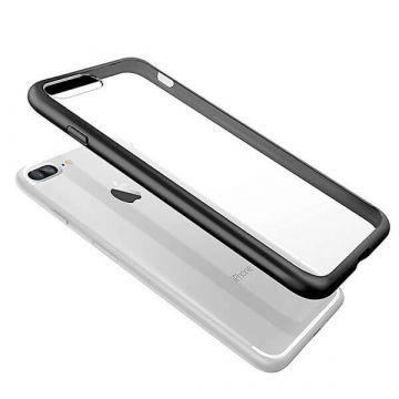 Transparentes TPU-Gehäuse mit schwarzen Kanten iPhone 7 / iPhone 8  Abdeckungen et Rümpfe iPhone 7 - 2