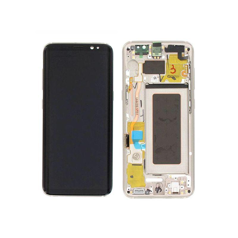 Achat Ecran Samsung Galaxy S8 Or GH97-20457F