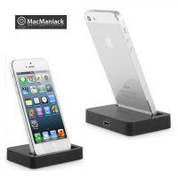 Achat Dock Station Noir iPhone 5, 5S