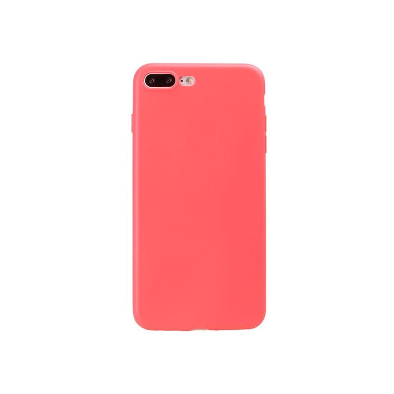 Buy TPU soft case for iPhone 8 Plus / 7 Plus - Red Coral - Housses et coques iPhone 7 Plus - MacManiack England