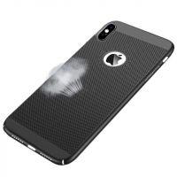 Harde microgeperforeerde behuizing  voor iPhone X Xs  Dekkingen et Scheepsrompen iPhone X - 3