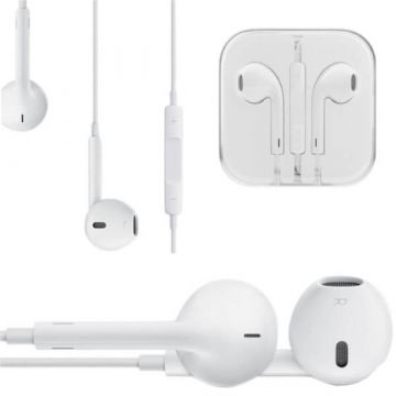 Earphone with microphone and EarPods volume control