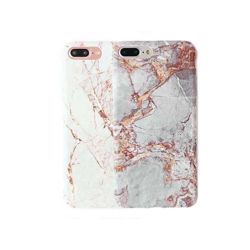 Achat Coque Effet Granit-Marbre iPhone 8 Plus / iPhone 7 Plus - Housses et coques iPhone 7 Plus - MacManiack