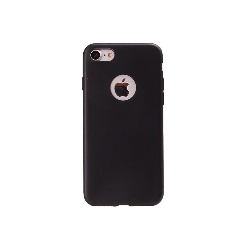 Achat Coque Silicone iPhone 6 Plus / 6S Plus - Noir - Housses et coques iPhone 6 Plus - MacManiack