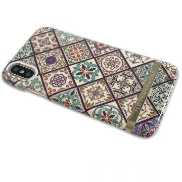 Stijve schelp Geometrische bloemen iPhone 8 / iPhone 7