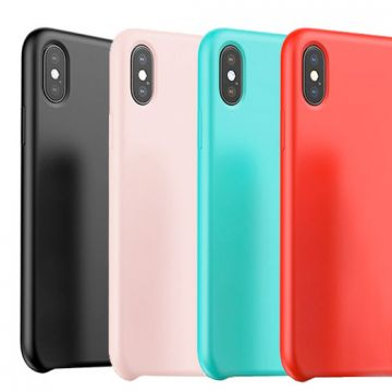 Baseus iPhone X Series Touch Silicone Case Baseus Covers et Cases iPhone X - 1