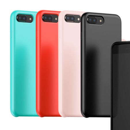 Silicone shell Touch serie Baseus iPhone 8 / 7 Baseus Dekkingen et Scheepsrompen iPhone 7 - 1