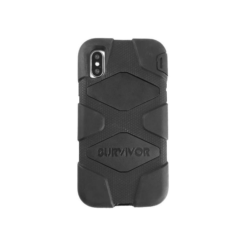 Indestructible Black iPhone X Case