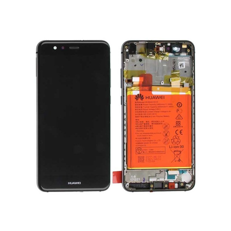 Buy Complete black screen Huawei P10 Lite Battery - Ecrans - LCD Huawei P10 Lite - MacManiack England