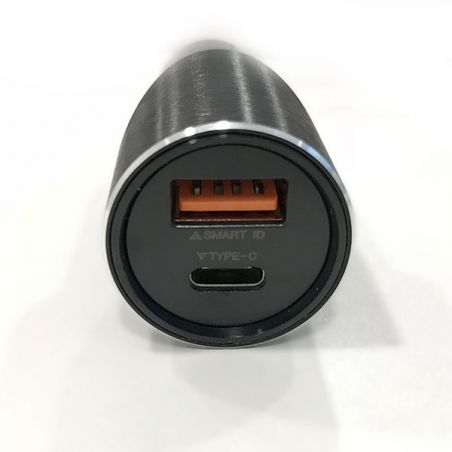 USB & Type-C Car Charger and Vidvie Lightning Cable Vidvie Cars accessories iPhone X - 2