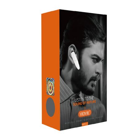 Vidvie Bluetooth Headset (WBT822) Vidvie Speakers and sound iPhone X - 1
