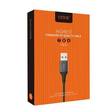 Vidvie Ultra Strong Nylon USB Lightning Cable Vidvie Chargers - Powerbanks - Cables iPhone X - 2