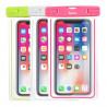 Waterproof fluorescent smartphone case
