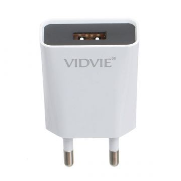 1.2A USB Ladegerät  und Vidvie Lightning Kabel Vidvie Ladegeräte - Batterien externe - Kabel iPhone X - 5