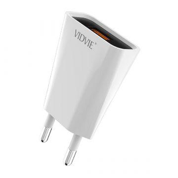 1.2A USB Ladegerät  und Vidvie Lightning Kabel Vidvie Ladegeräte - Batterien externe - Kabel iPhone X - 2