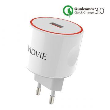 Achat Chargeur USB Quick Charge Qualcomm 3.0 Vidvie PLE210Q-X