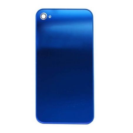 Replacement rear panel iPhone 4 mirror Blue