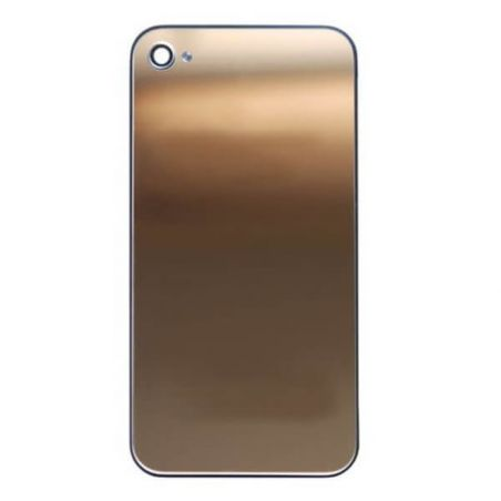 Ersatz Backcover Mirror Gold iPhone 4S