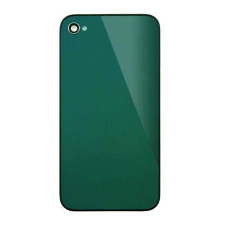 Achat Face arrière de remplacement iPhone 4 miroir Vert IPH4G-209X
