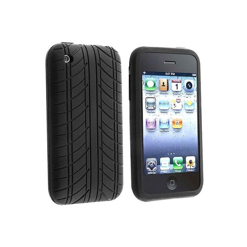Softtasche Hülle TPU schwarz iPhone 4 4 4S