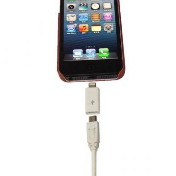 Achat Adaptateur Micro USB vers Lightning 8 pin iPhone 5 - iPad Mini- Touch 5 et Nano 7 CHA00-094