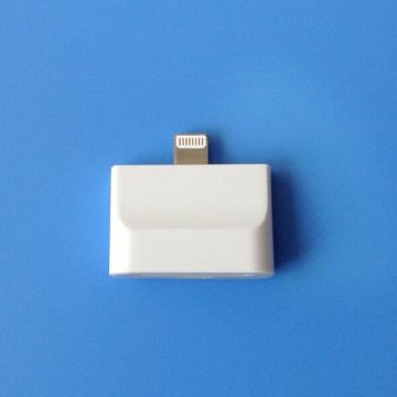 Lightning Adapter 2 in 1 30 pin to 8 pin iPhone 5 - iPad Mini- iPod Touch 5 and Nano 7