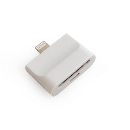 Achat Adaptateur Lightning 2 en 1 30 pin vers 8 pin iPhone 5 - iPad Mini- Touch 5 et Nano 7 CHA00-095