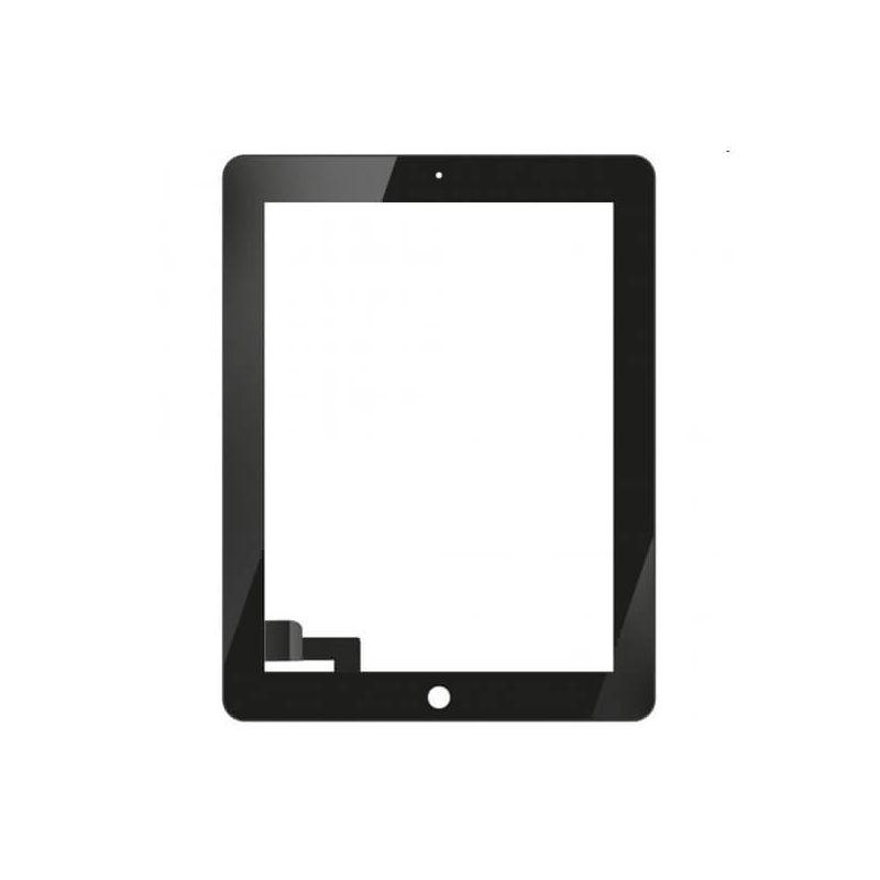 Achat Vitre tactile iPad 2 Noir + kit outils iPad PAD02-001