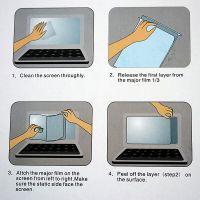 Ipad 2 Hochglanz-Schutzfolie für den Bildschirm