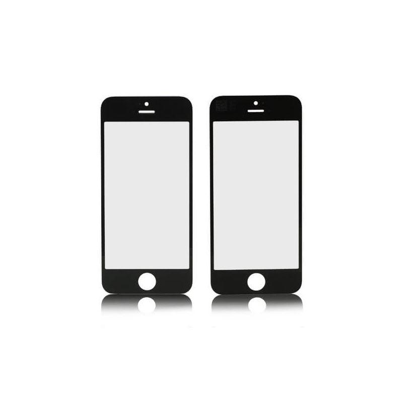 Achat Vitre avant iPhone 5 - 5S - SE Noir IPH5G-009