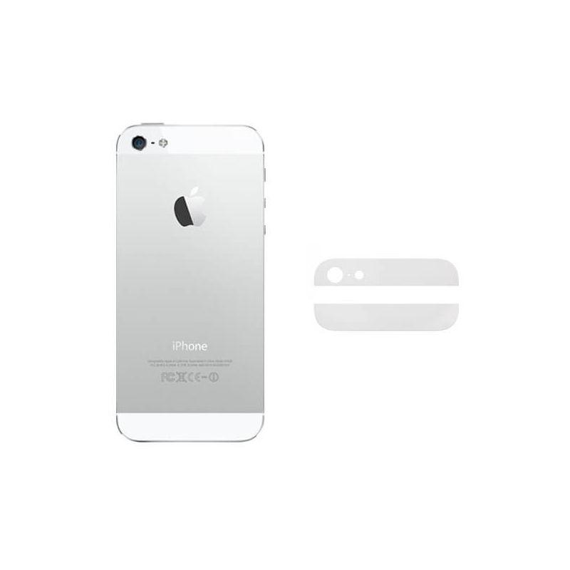 Achat Vitres arrières (supérieure et inférieure) iPhone 5 Blanc IPH5G-056