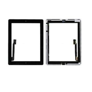 Touch Screen Glass/Digitizer Assembly For iPad 3 Black