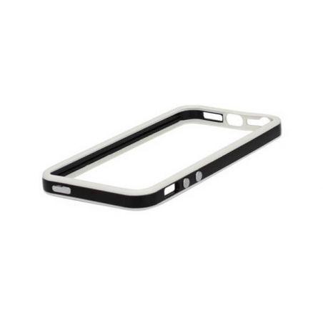 Achat Bumper - Contour TPU Noir & Blanc IPhone 4 & 4S COQ4X-016X