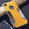 Coque rigide aluminium brossé iPhone 4 4S