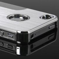Brushed Aluminium Series Cover Fits iPhone 4 4S