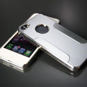 Achat Coque rigide aluminium brossé iPhone 5/5S/SE