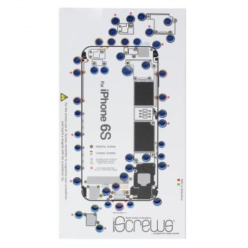 Achat iScrews patron de démontage iPhone 6S ISCREWSIP6S