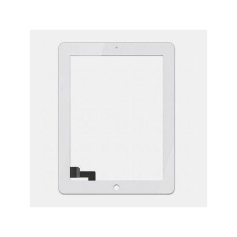 Achat Vitre tactile iPad 4 blanc + kit outils iPad PAD04-003