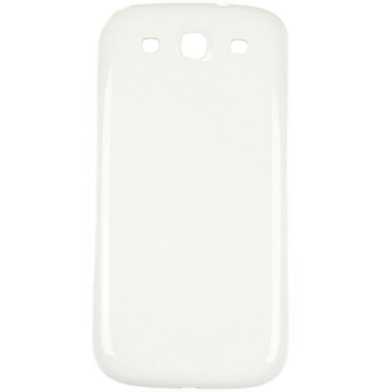 Original Replacement back cover white Samsung Galaxy S3  Screens - Spare parts Galaxy S3 - 1