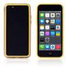 Bumper - Contour TPU jaune et transparent iPhone 5C