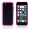 Bumper TPU Rosa und  Durchsichtig für  iPhone 5 C